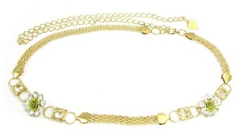 Clasp Chain Belts for women