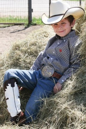 cowboy-designed-belts-for-small-boys