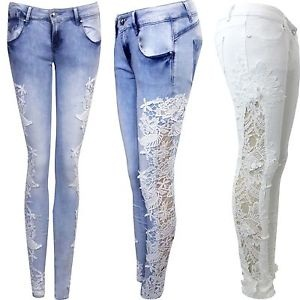 Beautiful Crochet Jeans