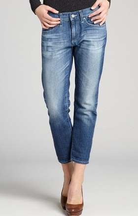 Womens Cropped Jeans