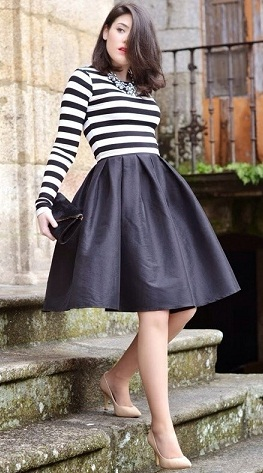 dark-colored-midi-skirt