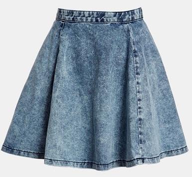 denim-skater-skirt