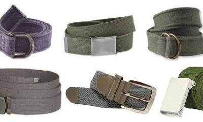 A man's belt and its buckle do more than just hold up his pants. They also make a fashion statement, and even a comment about the man himself. There's a belt and buckle for .