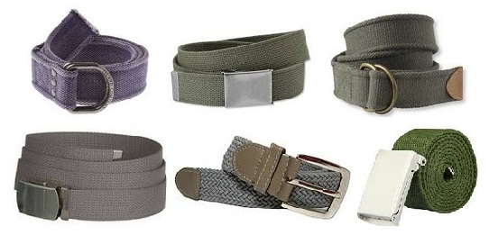 different-types-of-canvas-belts-for-men-and-women