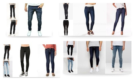 25 Different Types of Skinny Jeans for both Men and Women