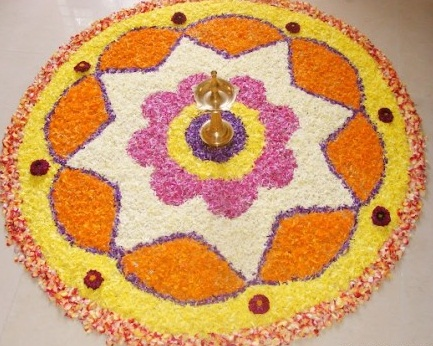 Diyas Rangoli Designs For Wedding