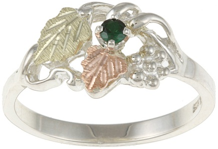 emerald-ring-with-black-hills-gold-and-sterling-silver2