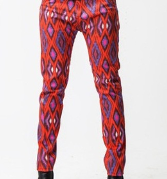 ethical-handmade-red-patterned-skinny-jeans-4