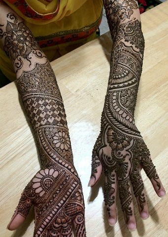 extended-bridal-arm-mehndi-design-14