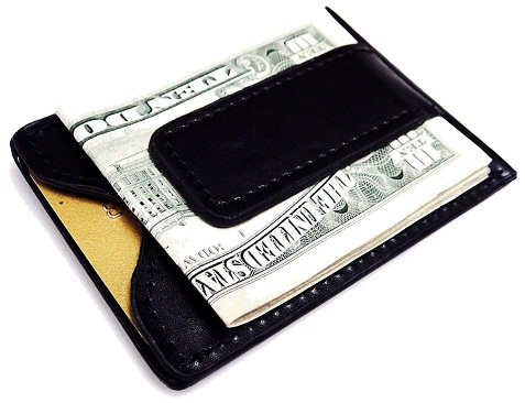 fine-leather-magnetic-money-clip-wallet