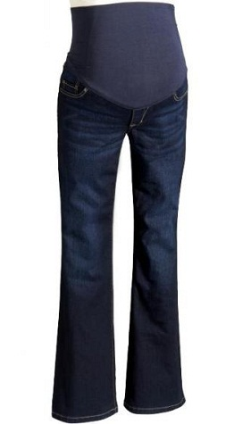 flare-bottom-maternity-jeans