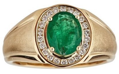 gold-1-3ct-tdw-diamond-and-oval-cut-zambian-emerald-ring9