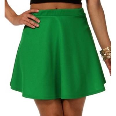 green-skater-skirt