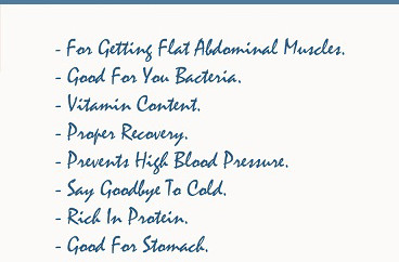 benefits of yogurt for the body