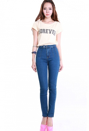 High Rise Jeans For Girls