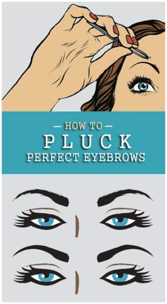 How to Pluck perfect Eyebrows
