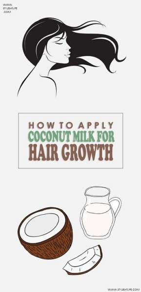 coconut milk for hair growth