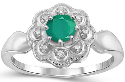 jewelonfire-emerald-gemstone-and-diamond-accent-flower-ring12