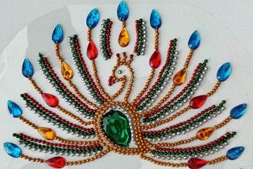 kundan-motif-peacock-rangoli19