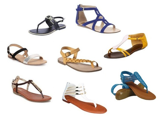 8134e0ac343 9 Latest Designer Flat Sandals for Women With Images | Styles At Life