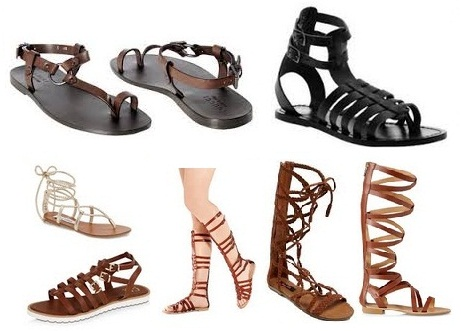 85c5b0b8174e 9 Latest High and Low Gladiator Sandals for Women and Men