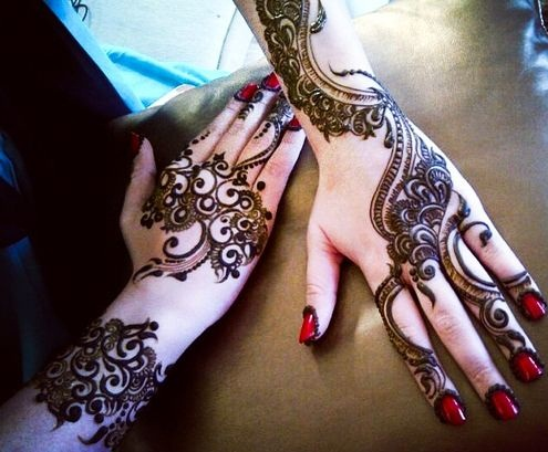 Latest Indian Mehndi Design