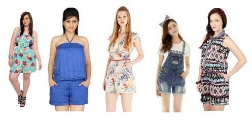 Short Jumpsuits for Women