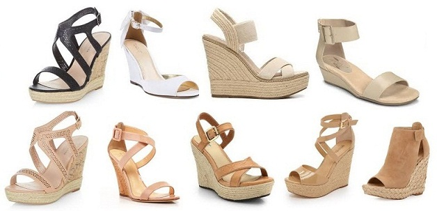 d140fef1b 14 Latest Wedge Sandal Designs for Girls | Styles At Life