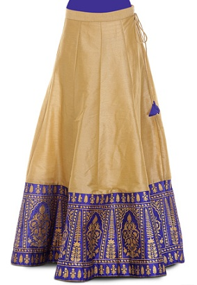 9 Long and Short Indian Skirts Designs for Women