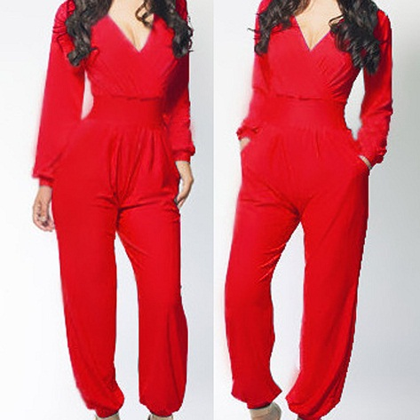 long-sleeved-red-jumpsuits