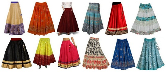long-and-short-indian-skirts-designs-for-women