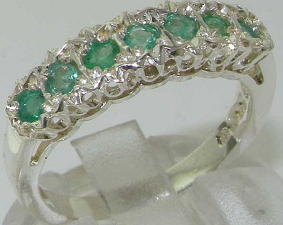 luxury-925-sterling-silver-seven-natural-emerald-stackable-ring10