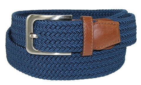 mens-elastic-braided-stretch-belt