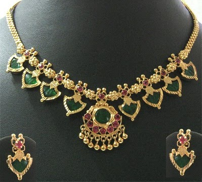 25 Simple And Latest Gold Necklace Designs For Women Styles At Life