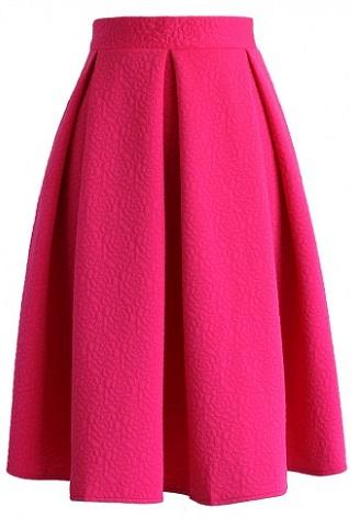 pink-midi-skirt