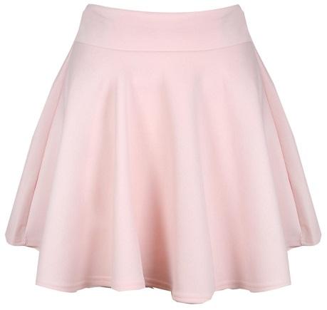 pink-skater-skirt