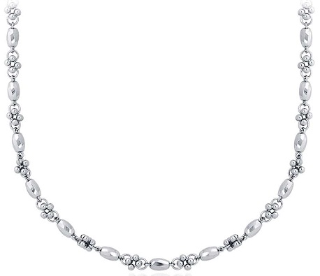 platinum-faceted-cluster-necklace