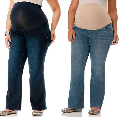 plus-size-maternity-jeans