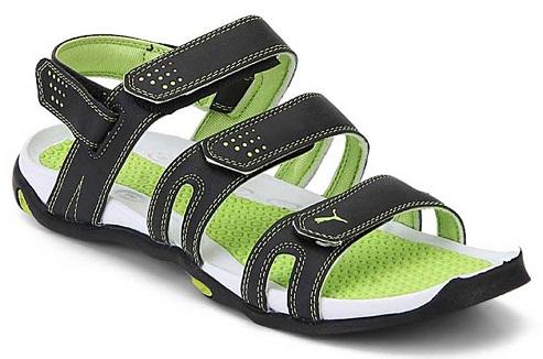 puma-green-sports-sandals