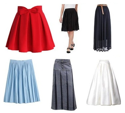 short-and-long-pleated-skirts-designs-for-women
