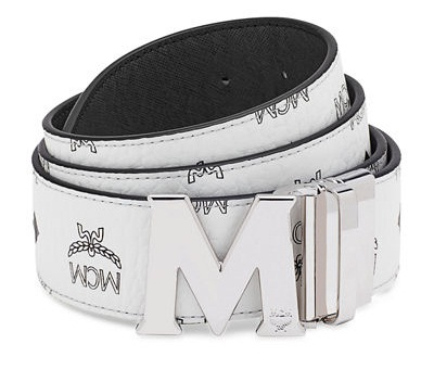 silver-and-printed-belt