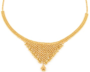 25 Simple and Latest Gold Necklace Designs for Women ...