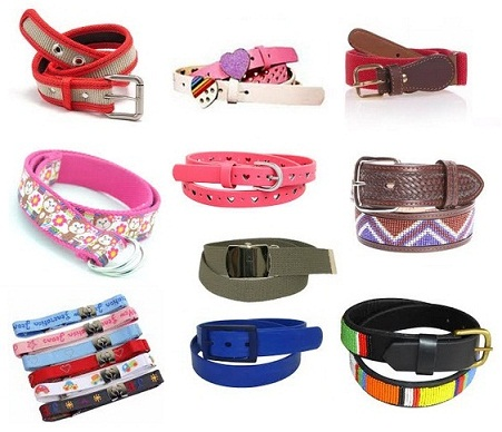 15 Simple and Best Kids Belts for Boys and Girls in Fashion