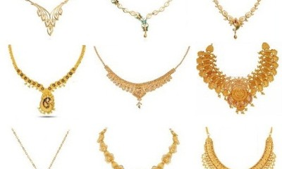 25 Simple And Latest Gold Necklace Designs For Women