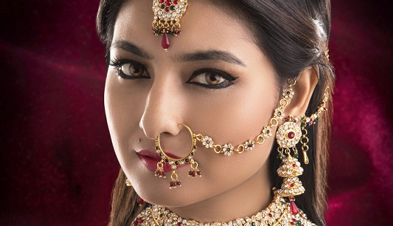 Image result for indian woman nose ring