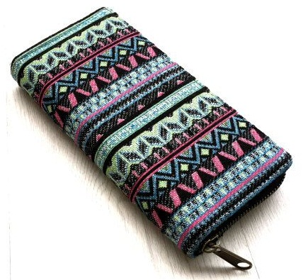 tribal-style-fabric-wallet