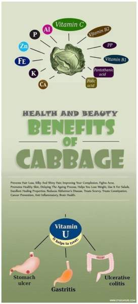 beauty and health benefits of cabbage