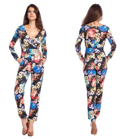 v-neck-floral-long-jumpsuits