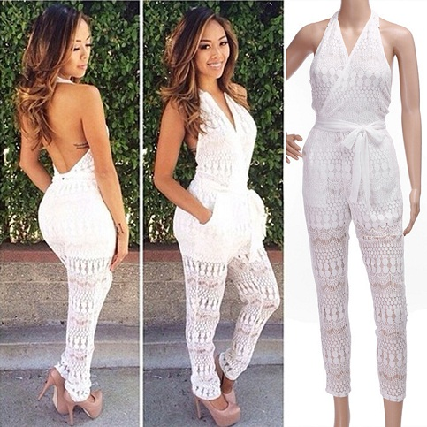 9 Trendy Long White Jumpsuits For Women Styles At Life