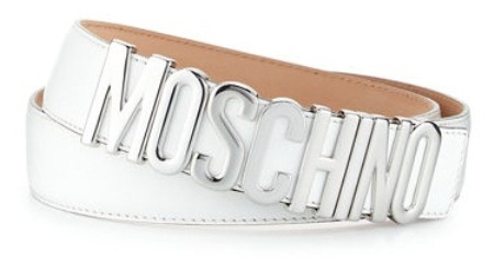 white-and-silver-belt